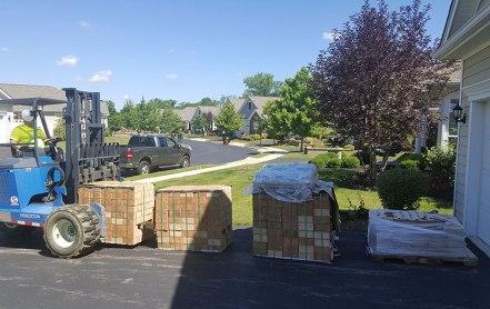 Brick-delivery